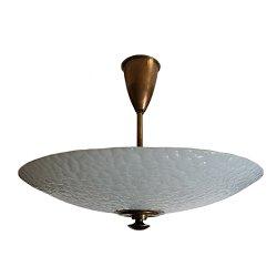 mid-century-brass-glass-pendant-lamp